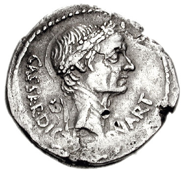 A new honour the image of caesar on coins the coins of julius rrc freerunsca Images