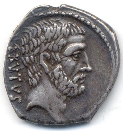 libertas the coins of brutus the coins of julius caesar